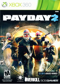 Pay Day 2 Xbox 360 - Digital