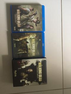 Kit Coleção The Walking Dead Blu-ray Original 1ª A 3ª Temp.