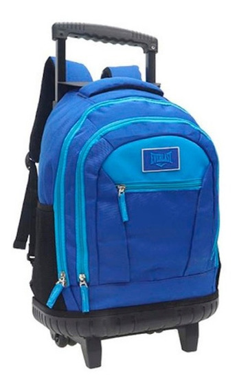 Mochila Carro Everlast Azul 8536