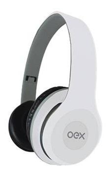 Combo Twin Headset + Fone De Ouvido Hf-100 Branco Hf100 Oex