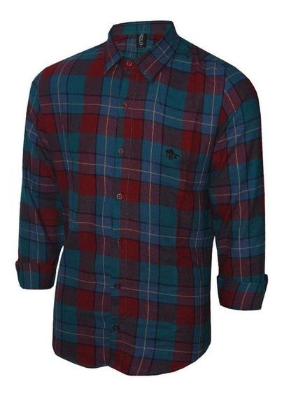 Camisa Masculina Flanelada Polo Original Polo Rg518