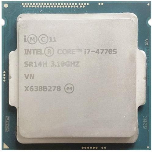 Imagen 1 de 1 de Procesador Gamer Intel Core I7-4770s De 4 Núcleos Y 3.1ghz