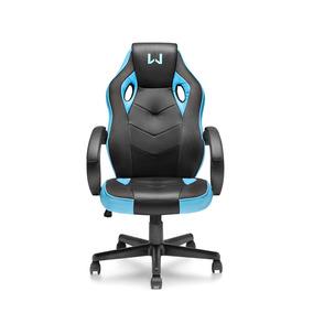Cadeira Warrior Gamer Azul - Ga161 Linha Games
