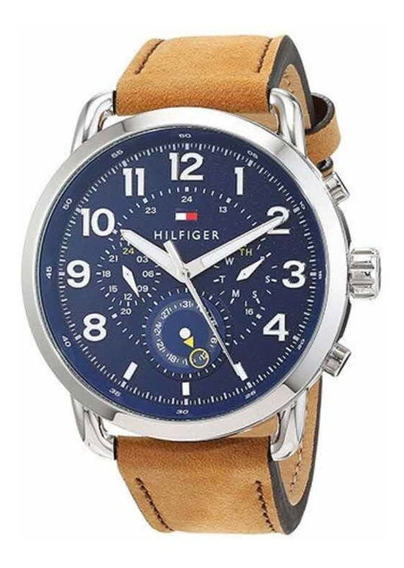 Relogio Tommy Hilfiger 1791424 Pulseira Couro! Imbativel Top