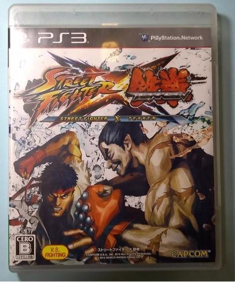 Street Fighter X Tekken - Playstation 3 Japonês