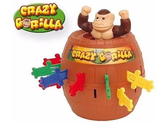 Juego De Mesa Crazy Gorilla Ditoys Barril Habilidad Original