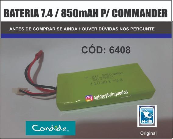 Commander 6408 H-18 - Só A Bateria 7.4v 850mah Original
