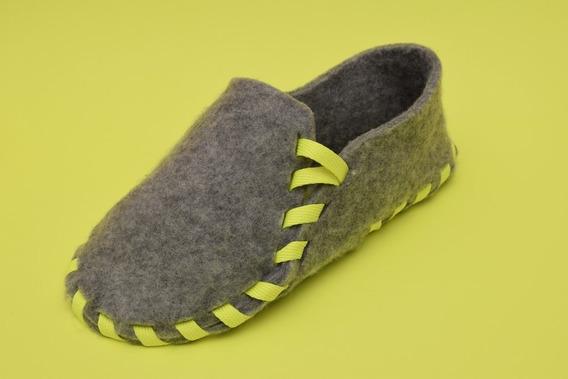 Empatas Slippers - Pantuflas Lazo Amarillo Flúo - 2do Cordón