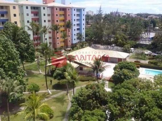 Excelente Apartamento Com 2/4 Em Ótimo Condomínio Fechado Com Ótima Localização!! - 93150467