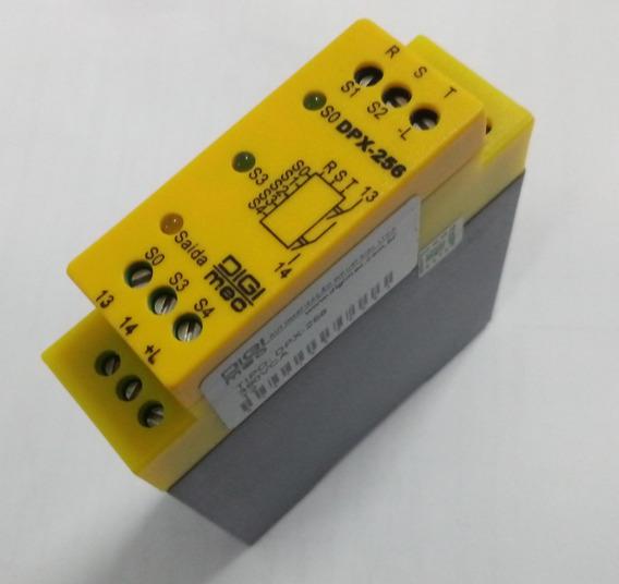 Relé De Segurança Dpx-256 380vca T2 C/sequência Fase Digimec