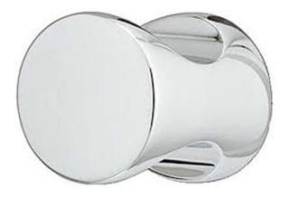 Manija Tirador Boton Cromo Pullido Ideal Baño X 2 Unidades