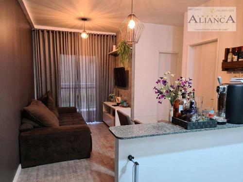 Apartamento Com 2 Dormitórios À Venda, 47 M² Por R$ 255.000,00 - Vila Gonçalves - São Bernardo Do Campo/sp - Ap2231