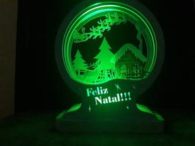 Luminária Led Natal18cm