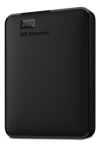 Disco Duro Wd 2tb Elements Portátil Externo Hdd Usb Negro
