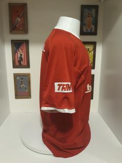 Camisa Topper Internacional Brasileiro De 2001 Patch Tam