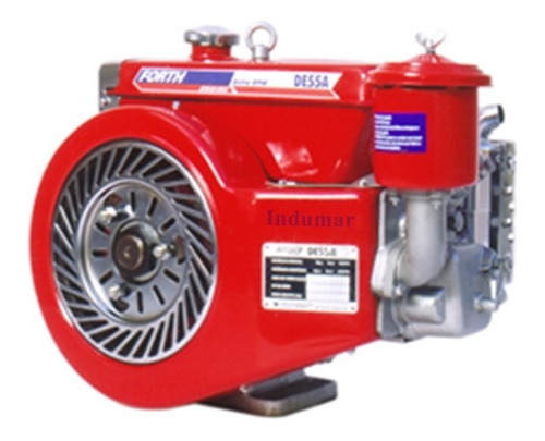 Motor Diesel 5,5cv Refrigerado A Ar Partida Manual Forth