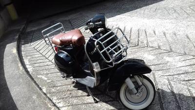 Vespa Paseo Motor150cc Negra