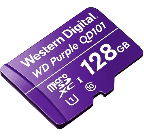 Imagen 1 de 4 de Tarjeta Micro Western Digital Wdd128g1p0c Sdxc 128gb Clase10