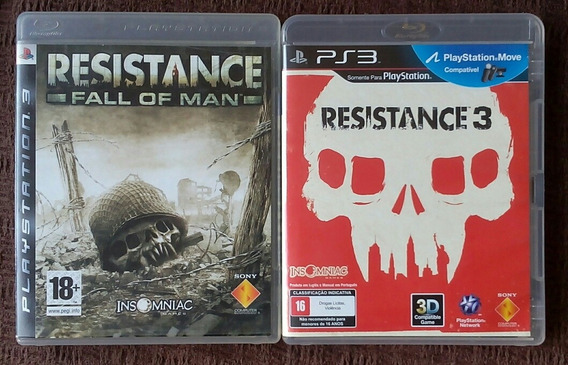 Resistance Fall Out Man + Resistance 3