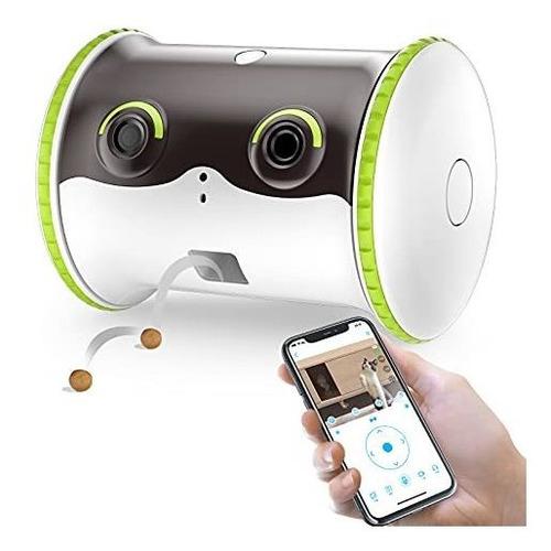 Linksus Smart Pet Camera,1080p Hd Monitor Camera With 2-way