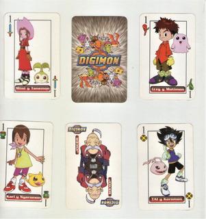 Naipes Españoles - Digimon - 50 Cartas