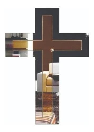 Espelho Decorativo Cruz - 20x30 - Lançamento