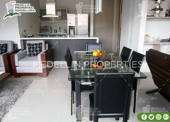 Apartamentos En Arriendo Amoblados En Envigado Cód: 4617