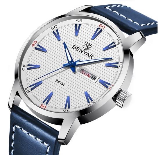 Relógio Masculino Original Esportivo Luxo Benyar A Prova D