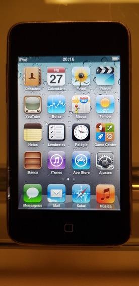 iPod Touch Apple A1318 32gb Preto Funcionando + Capa Belkin