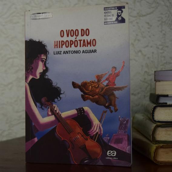 Livro - O Vôo Do Hipopótamo - Luiz Antonio Aguiar
