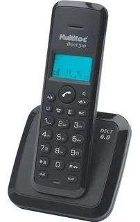 Telefone Sem Fio Dect Black 310 Multitoc