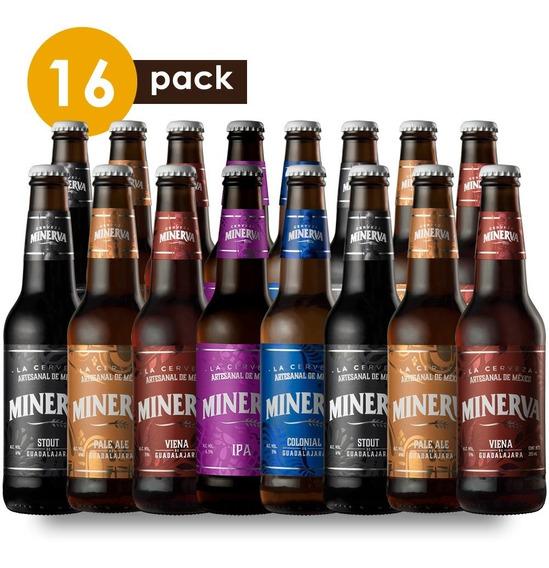 Cerveza Artesanal Minerva Cervexxa Beerpack 16