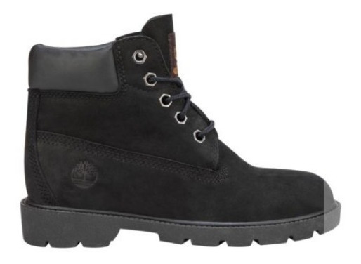 Bota Heavy Timberland 6 Inc Basic Boot Black 0001