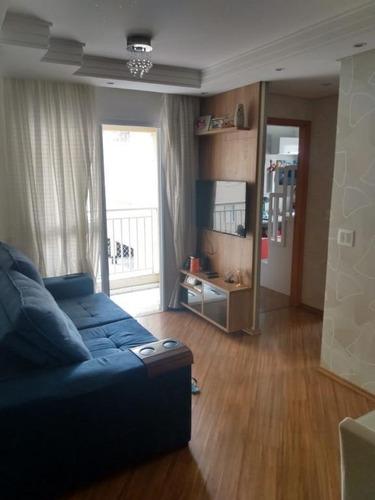 Apartamento Com 2 Dormitórios À Venda, 50 M² Por R$ 280.900 - Utinga - Santo André/sp - Ap6045