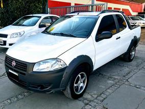 Fiat Strada 1.4 Working Cd C/aa Año 2013