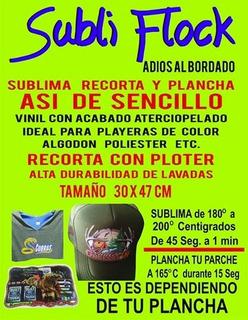 Sublimacion Subliflex(subliflock) 15 Hojas