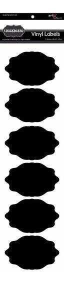 Adesivo Chalk Sticker Lousa Gis Etiqueta Scrap Book C6 #1495