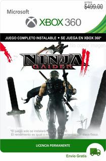 Ninja Gaiden 2 Xbox 360 -- Envío Gratis --