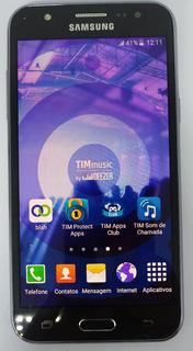 Samsung Galaxy J5 J500m/ds Preto Dual 16gb Vitrine Burn-in