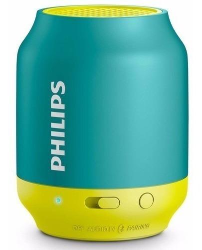 Caixa De Som Bluetooth Philips Speaker Bt-50 Original Nova