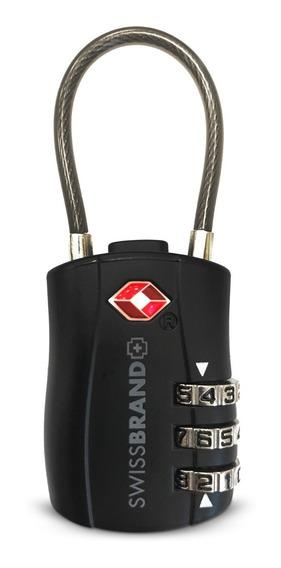 Candado De Cable Swissbrand