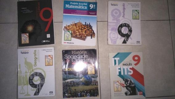 Kit De 5 Livros Do 9 Ano + Brinde