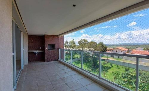 Apartamento Com 3 Suítes À Venda, 138 M² Por R$ 938.000 - Alphaville - Campinas/sp - Ap0762