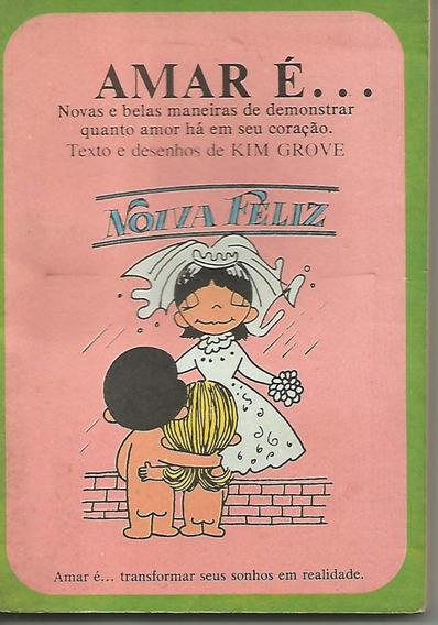 Lote Com Dois Livros Amar É Nº 01 E Nº 12 - Cedibra