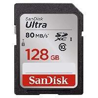 Memoria Sandisk 128gb Sdxc Ultra Uhs-i 80mb/s Clase 10