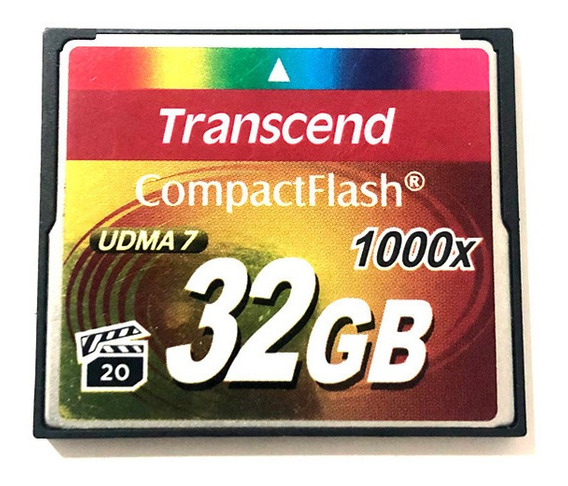 Cartão Cf Transcend 32gb 1000x
