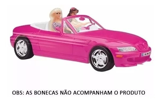 Para Barbie Carro Miniatura Cor Rosa Mary Kay Monster High