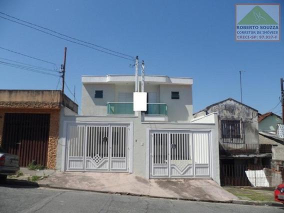 Sobrado Geminado Para Venda Em São Paulo, Vila Fernandes, 3 Dormitórios, 1 Suíte, 2 Banheiros, 2 Vagas - 00439_1-855682