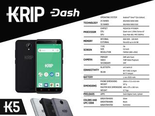 Krip K5 (3g) 1gb+8gb Liberado Para Todas Dual-sim Tienda