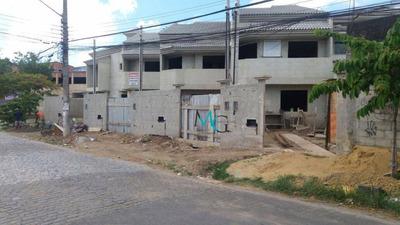 Casas Duplex Em Construção Com 2 Suítes, Campo Grande, Rj - Ca0142
